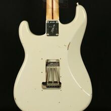 Photo von Fender Stratocaster 69 HSS Vintage White Floyd Rose Relic (2002)