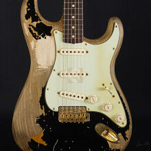 Photo von Fender Stratocaster John Mayer Black One Masterbuilt #JC 1646 (2010)