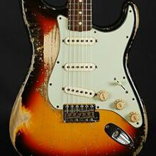 Photo von Fender Stratocaster 63 Heavy Relic Masterbuilt Smith (2014)
