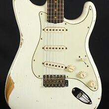 Photo von Fender Stratocaster 59 Heavy Relic Aged Olympic White (2019)