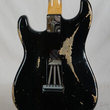 Photo von Fender Stratocaster '63 Heavy Relic Black MB Dale Wilson (2014)