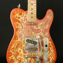 Photo von Nick Page Paisley Telecaster Bigsby (2006)